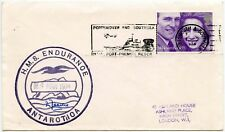 ANTARCTIC SHIP ENDURANCE SIGNED ISACKE 1973 ROYAL WEDDING PORTSMOUTH NAVAL PORT