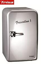 """Retro Style Mini-Kühlschrank Trisa Frescolino """" Eco """" 17 L silber 12 + 220 Volt"""