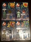NEW! Set Of 4 Retro The Real Ghostbusters Classics Figures Walmart Exclusives