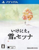 USED PS VITA Ikenie to Yuki no Setuna Sacrifice and Setsuna of snow