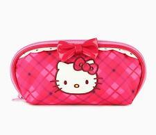 Sanrio Hello Kitty Checkered Pencil Pouch