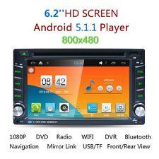Android5.1 Quad Core 2din Car Radio Navi GPS BT 3G Wifi OBD Mirror Link RDS
