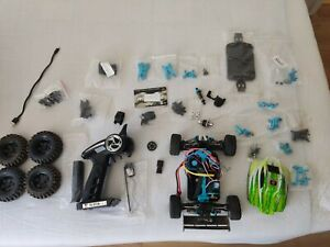 *Broken* WlToys A959B upgraded version with lots of parts