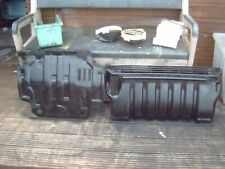 pajero/shogun mk11 front and centre sump guards