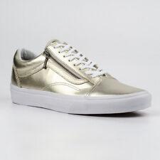 Vans Old Skool Metallic Leather Skate shoes NWT