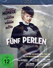 BLU-RAY NEU/OVP - Fünf Perlen - Marilyn Monroe & Charles Laughton