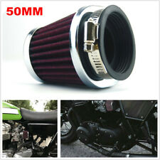 Motorcycle Bikes Carburetor 50MM Air Filter ATV Intake for Honda Suzuki Yamaha