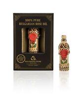 100% Pure Essential Rose Oil Otto Bulgarian Rosa Damascena Rose Attar 0.5 ml