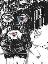 Fight Club Delicious Design League MONDO Screen Print Movie Film Poster Art DDL