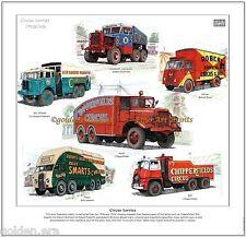 Zirkus Lastkraftwagen 1950/60's - Kunstdruck - Chipperfield, Billy Smart,