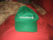 BUDWEISER SHAMROCK BASEBALL CAP`NEW`