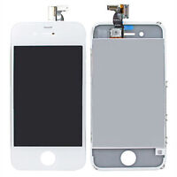 Replacement LCD Screen +Touch Glass Digitizer Assembly for AT&T iPhone 4 (White)