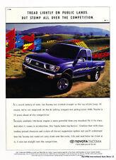 1996 Toyota Tacoma 4x4 Truck 190hp - Classic Car Advertisement Print Ad J72