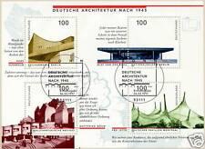 BRD 1997: Architektur-Block Nr. 37 mit Bonner Ersttags-Sonderstempeln! 1A! 1605