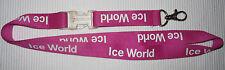 Ice World Schlüsselband Lanyard NEU (A1)