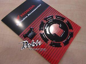 Brand New Carbon Fibre look Genuine Honda Racing HRC Fuel Filler Cap / Lid Cover