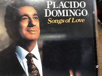Placido Domingo Songs Of Love Music CD
