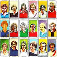 Sun Soccercards 1978 1979 Single Football Player Cards - Various 201 - 300