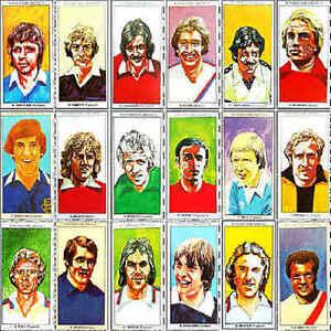 Sun Soccercards 1978 1979 Single Football Player Cards - Various 301 - 400