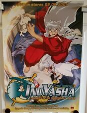 Inuyasha The Movie 3 Dvd release poster. Swords of an honorable ruler