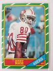 1986 topps jerry rice rookie card 161 NM-MT