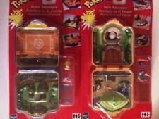 POKEMON-POLLY-POCKET-Park-amp-Arena-Adventure-mini-set-Hasbro-Vintage-PLAYSET