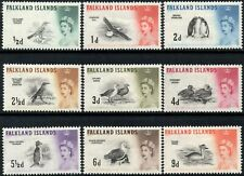 Falkland Islands 1960 QEII Birds  Values to 9d  SG.193/201  Mint (Hinged)