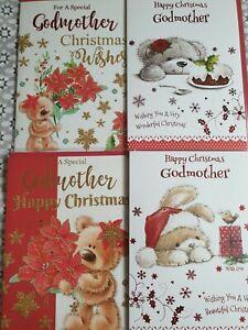 Christmas Cards - Godmother (standard post)
