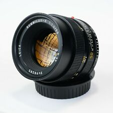 Leica 50mm f/1.4 Summilux-R Late E55 Leitz German Lens *MINT*