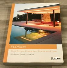 Florida Real Estate Principles, Practices & Law 38th Edition Dearborn