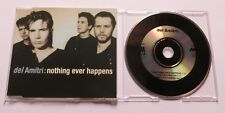 Del Amitri-Nothing Ever Happens A & M records 390 498-2 mcd maxi CD