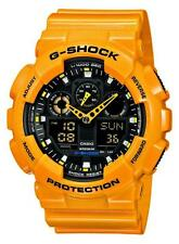 Casio G-Shock Uhr GA-100A-9AER Analog,Digital Orange