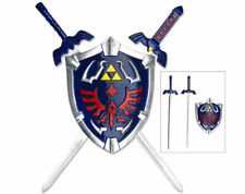 LEGEND OF ZELDA COMBO MINI MASTER SWORD HYLIAN SHIELD SET OCARINA OF TIME Link