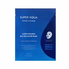 [Missha] Super Aqua 10 ácido hialurónico Ultra hyalron Bio celulosa Máscara - 1 un.