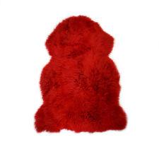 Sheepskin - Red - Genuine Australian Sheepskin