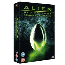 Alien Quadrilogy - 9 Disc DVD Boxset - OOP - Ridley Scott - Region 2