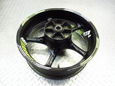 2008 08-16 Yamaha YZFR6 YZF R6R R6 Rear Back Wheel Rim Straight Video 17X5.5