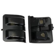 2x Tow Mirror Turn Signal Light Lens Smoke For Ford F250 F350 F450 Super Duty