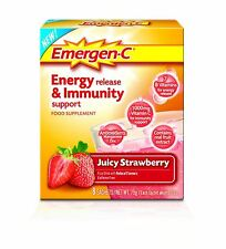 EMERGEN-C Juicy Strawberry Energy Release & Immunity Food Supplement - 6 Pack