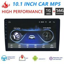 Double 2 DIN 10inch Android Car Stereo GPS BT WiFi FM Radio Video Head Unit
