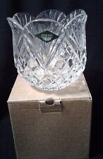 One Shannon 24% Lead Crystal Pineapple Candle Holder Dish Slovakia Ireland NIB
