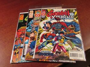 Gambit and the X-ternals #1 2 3 4 Age of Apocalypse Comic Book Set 1-4 Series
