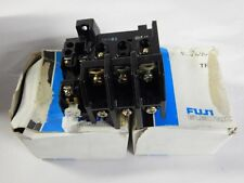 (2) NEW / NOS FUJI TR-3 Thermal Overload Relay - Lot of 2