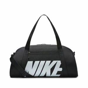 Unisex Nike Sports Duffel Gym Training Sports Bag BA5490 018 Black/White 30L