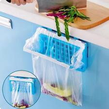 Kitchen Hanging Trash Rubbish Bags Holder Garbage Racks Cupboard Hanger B