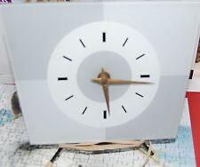 horloge de table trapézoïdale - vintage années 50
