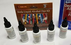 Keda Liquid Dye For Guitars Offered In 5 Color Stain Dye Kit Guitar Stains