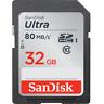 Sandisk Ultra 32GB SDHC/SDXC UHS-I Memory Card SD Card Camera Card SDSDUNC