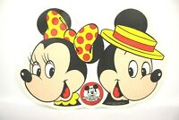 """Vintage Mickey Mouse Club Minnie Walt Disney PLACEMAT 18"""" Mikey Mouse Club VTG"""
