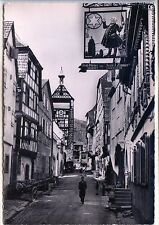 CP 67 Bas-Rhin - Riquewihr - Grand' Rue - Enseigne de l'Etoile